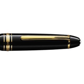 MONTBLANC万宝龙 大班146系列镀金钢笔墨水笔113660 F尖