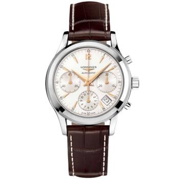 LONGINES 浪琴 瑞士手表 复古传统系列机械男表 L2.742.4.76.2
