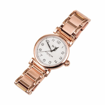 COACH 女士链条手表-刘雯同款 14502395 金色14502395 32mm 白色 金色 不锈钢镀金
