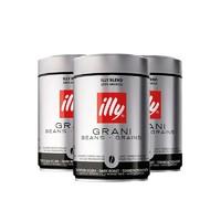 88VIP:illy 意利 進口深度烘焙咖啡豆 250g*3罐 *2件 +湊單品