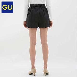 GU 极优 315822 女装泡泡纱短裤