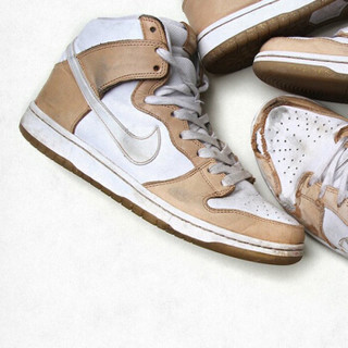 NIKE 耐克 SB Dunk High联名款 881758-217 金币辉煌 高帮运动休闲鞋 (43/US9.5)