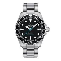 CERTINA 雪铁纳 GENT AUTOMATIC C0324071105110 海龟 自动机械钢带手表 (43mm、钢、圆形)