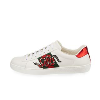 GUCCI 古驰 Ace系列 男士刺绣运动鞋