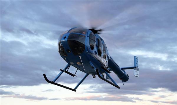 全意航空 麦道MD 600N直升机