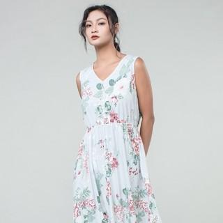 贴心 女士莫代尔棉薄款睡裙连衣裙 *2件