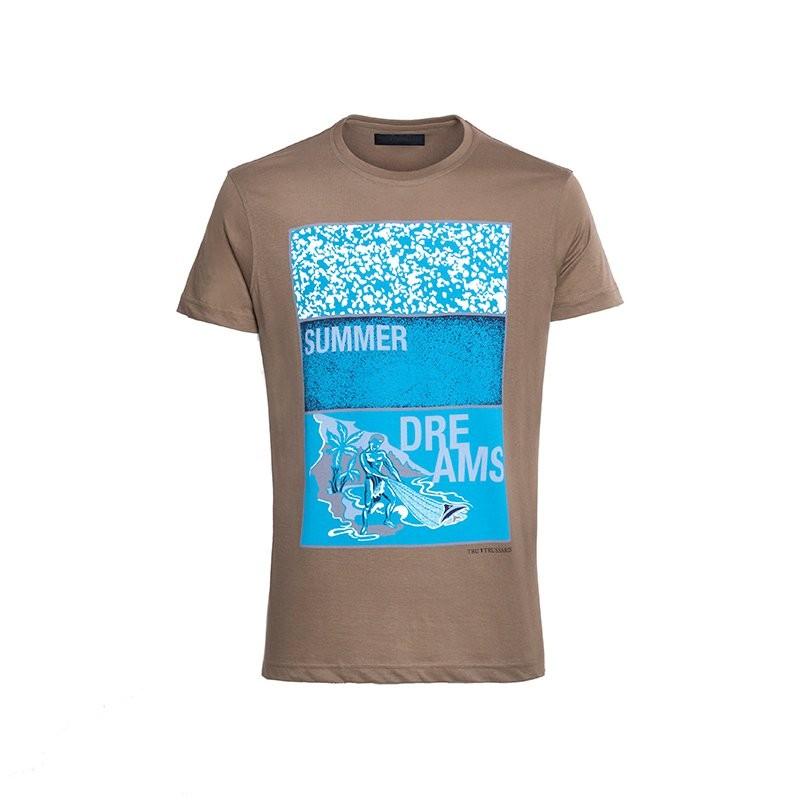 TRU TRUSSARDI 32T09INT 男士短袖T恤