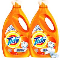 宝洁正品汰渍机洗洗衣液3kg*2瓶装家庭促销组合装香味持久整箱批 *2件