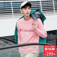 Columbia哥伦比亚户外19春夏男款休闲系列圆领套头长袖卫衣AE0703