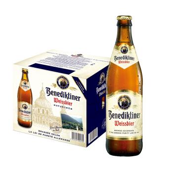 百帝王 小麦白啤 500ml*12 瓶整箱 *4件