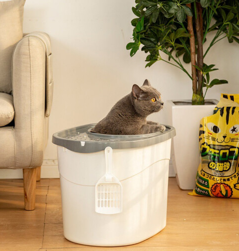IRIS 爱丽思 TECL-20 半封闭式猫砂盆