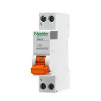 Schneider Electric 施耐德电气 E9系列 DPN32A 1P+N 断路器双进双出 空气开关
