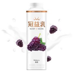 MENGNIU 蒙牛 冠益乳 风味发酵乳 桑葚口味酸奶酸牛奶 450g