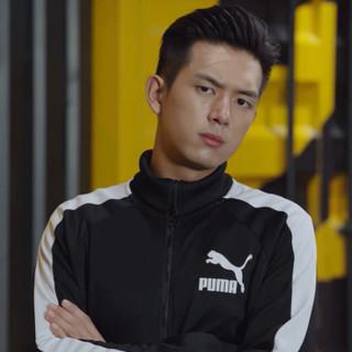 PUMA彪马 男装夹克外套2019秋季新款T7系列休闲训练针织立领套装运动服59597601