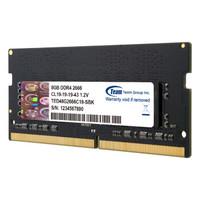 Team 十铨 DDR4 2666 8G 内存条 (8GB、笔记本内存)