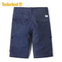 Timberland 添柏岚 复古工装风休闲短裤|A1VTC (蓝色、31)