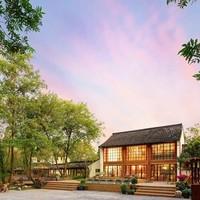 推窗即景!杭州西溪十里芳菲度假村落1晚套餐 含早餐,西溪湿地门票