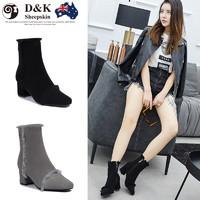 D&K Sheepskin UGG DK336 女士短靴