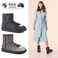 DK Sheepskin UGG  DK033 女士加厚雪地靴