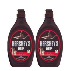 HERSHEY 好时 巧克力味糖浆 680g*2瓶