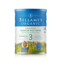 BELLAMY'S 贝拉米 有机婴幼儿奶粉 3段 900g