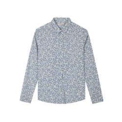 maxwin 女式印花梭织长袖衬衫