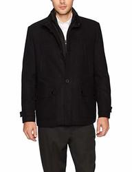 Kenneth Cole New York 男式单排扣羊毛夹克