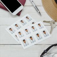 FUJIFILM 富士 证件照 照片冲印 2英寸35*45mm(8张/版)