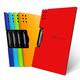 fizz A4资料文件夹 单夹 横/竖款可选 6.5元包邮(需用券)