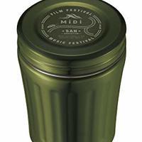 CB JAPAN Midi 午餐罐  橄榄绿 350ml 真空2層構造