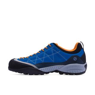 SCARPA 思卡帕 ZEN PRO 72530-350 徒步鞋 (蔚蓝拼橘色、42 )