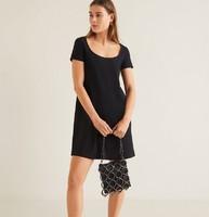 MANGO 41087769 女士圆领针织连衣裙