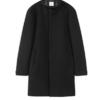 G2000 男装中长款毛呢大衣新款羊毛立领标准型休闲青年款外套 00020807