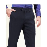 Hodo 红豆 男装 西裤男 简约商务系列平纹布修身中腰直筒西裤 HWN6K5699