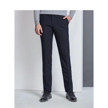 Hodo 红豆 男装 西裤男新商务系列商务休闲修身直筒西裤 DZHNK015S