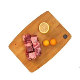 限地区 : 恒都 澳洲羊后腿肉切块 500g/袋  *6件