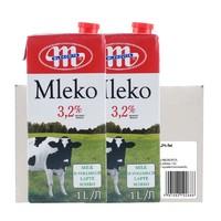 MLEKOVITA 全脂纯牛奶 1L*12盒