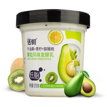 新希望 低脂活润大果粒 牛油果+青柠+猕猴桃 370g*3