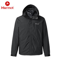 Marmot 土拨鼠 MemBrain L47390 男款650蓬鹅绒羽绒三合一冲锋衣