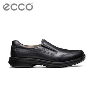 ecco 爱步 500114 懒人休闲鞋 (黑色、39)