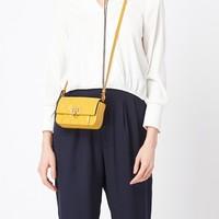 Givenchy 纪梵希 多色格纹羊皮翻盖女包手提包单肩包斜挎包