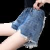 YUZHAOLIN 俞兆林 女装韩版宽松学生百搭热裤阔腿牛仔短裤女士  YWKN1917-145