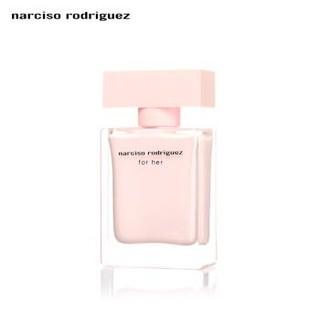 纳西索罗德里格斯(narciso rodriguez)for her女士香水30ml(斩男香 粉瓶EDP 麝香花果香木香 进口 )