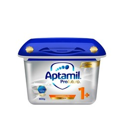 Aptamil 爱他美 白金版 婴儿奶粉 1+段 800g 4罐装 *2件
