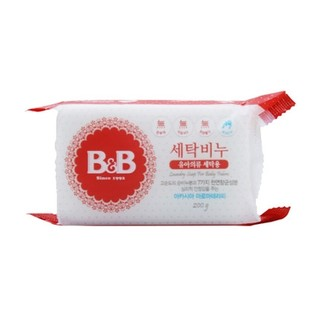 88VIP : B&B 保宁 婴儿洗衣皂 洋槐香香型 200g *10件 +凑单品