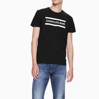 CK JEANS J312678  男士撞色短袖T恤