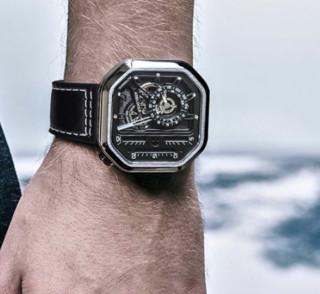 AGELOCER 艾戈勒 新大爆炸系列 5801A1 男士机械手表