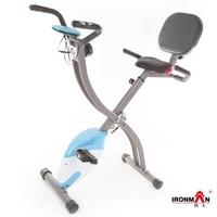 IRONMAN 铁人 X型折叠静音磁控健身车