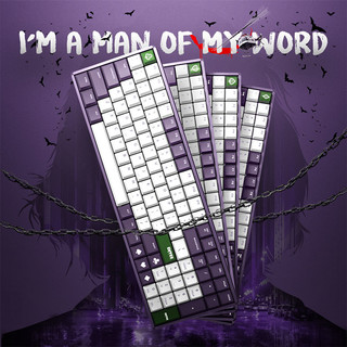 IQUNIX F96 JOKER 机械键盘 单模 青轴  无光