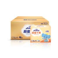 Anerle 安儿乐 超值干爽系列 通用纸尿裤 XL144片 *3件